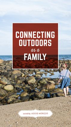 Connect outdoors as a family. Read about the Morizio's experience in the latest edition of Trails Mix. // #FamilyTrails