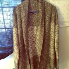 Comfy Cardigan Comfy cozy cardigan that's only been worn once. It would go great with a v-neck shirt & some leggings. Colors: light grey, dark grey, white. Sweaters Cardigans