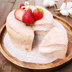 フルーチェ使って焼くまで5分❤️苺のとろ〜りチーズケーキ   リユサさんのお料理