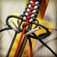 Tricolor pulsera Paracord