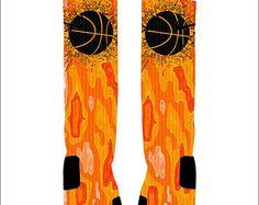 Basketball Custom Nike Elites Socks Basketball is Life Custom
