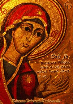 And Mary said, Behold the handmaid of the Lord; be it unto me according to thy word. And the angel departed from her.