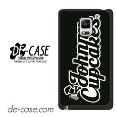 Johnny Cupcakes Logo DEAL-5911 Samsung Phonecase Cover For Samsung Galaxy Note Edge