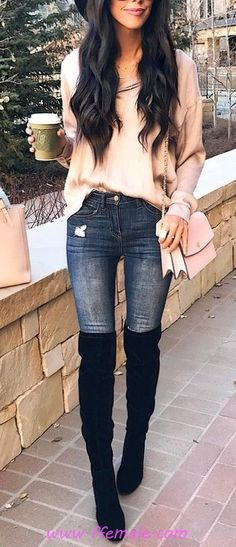 100 Casual Fall Outfit Ideas To Try Right Now / Awesome And Wonderful Look Fall Outfits 2018, Trendy Fall Outfits, Business Casual Outfits, Fall Fashion Outfits, Mode Outfits, Fall Winter Outfits, Popular Outfits, Autumn Outfits Women, Womens Fashion