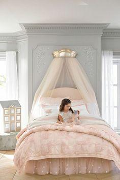 Baldachin Im Kinderzimmer   42 Ideen, Wie Sie Das Kinderzimmer Zu Einem  Gemütlichen Platz Machen