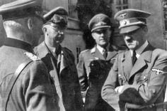 Hoffmann Collection. Adolf hitler in Tuchler ( Himmler is the second from the left). Heinrich Hoffmann (September 12, 1885 – December 11, 1957) was a German photographer best known for his many published photographs of Adolf Hitler. Hoffmann worked in his father's photographic shop and as a photographer in Munich from 1908.He joined the NSDAP in 1920 and was chosen by its new leader Hitler as his official photographer.