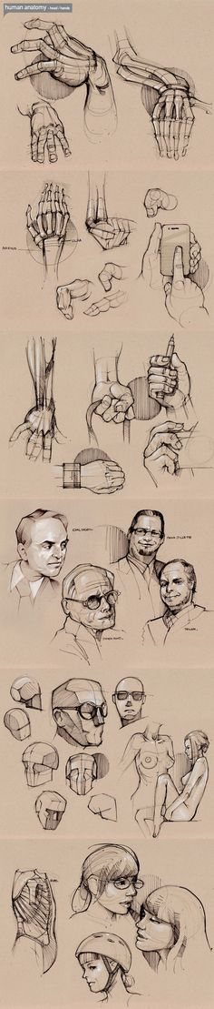 HÄNDE ZEICHNEN rosto mão