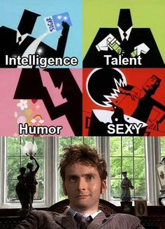 David Tennant...loves me some Tenth Doctor <3