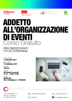 #corso gratuito a #Pescara finanziato dal Forma.Temp rivolto a disoccupati iscritti ad Adecco.