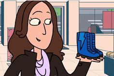 Hilarious back to school shoe shopping video featuring our editor Liz! #EveryDayMoments