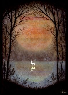 A Placid Pause Print by andykehoe on Etsy, $50.00