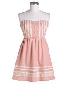 dELiAs > Pink Tube Corset Dress > dresses > casual