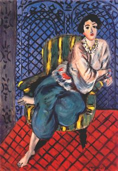 Seated Odalisque, Left Leg Bent by Henri Matisse, 1926