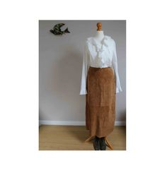 Vintage skirt suede skirt 70s style skirt 1970s by BebopBoutiqueuk