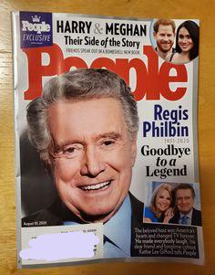 People Magazine Regis Philbin August 10 | Mercari August 10, People Magazine, Harry And Meghan, Dear Friend, New Books