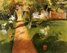 Millet's Garden - John Singer Sargent