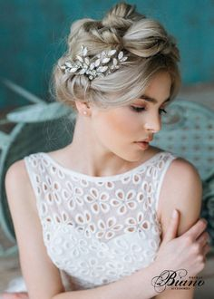 27 Chic and Romantic Handmade Hair Accessories For Winter Brides!