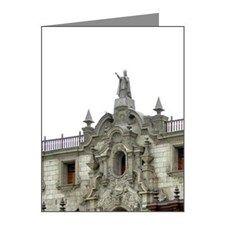 Lima. Historic Plaza de Arma Note Cards (Pk of 10)