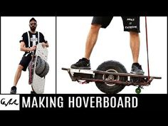 This Guy Created An Extreme Offroad Hoverboard Out Of Junk [Video] - Recycling does not have to be boring. This guy took whatever scrap junk he could find and created his very own extreme offroad hoverboard.