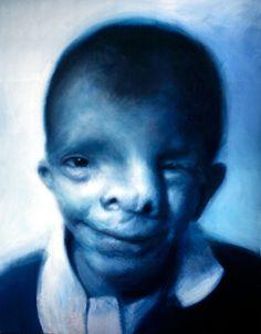 Righteous Man V (Blue Boy) by Gottfried Helnwein on Curiator – http://crtr.co/1m32