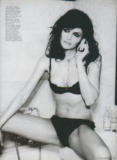 ☆ Helena Christensen | Photography by Ellen von Unwerth | For Autore Magazine Australia | March 2003 ☆