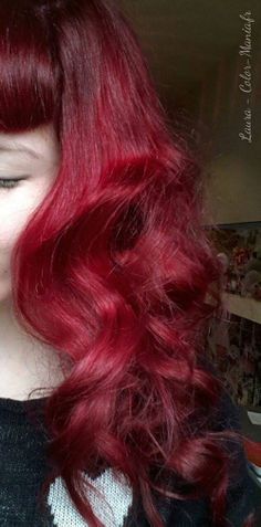laura coloration cheveux rouge pillarbox directions - Coloration Temporaire Rouge