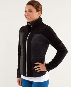 Lululemon St Moritz Jacket.  Can't decide between black and white!!