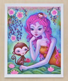 Year Of The Monkey - Limited Edition Print