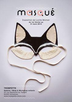 exposition lucille michieli Masque couture masque enfant trompette vincennes