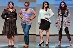 Tendências de moda para valorizar o corpo das mulheres mais cheinhas, disfarçando os quilinhos extras em um look mais casual.  #plussize #trendalert #fashion