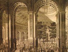 Rotunde Weltausstellung Wien 1873 (leider 1937 abgebrannt) Egypt Art, Vienna Austria, World's Fair, Hungary, Barcelona Cathedral, History, Architecture, Interiors, Art