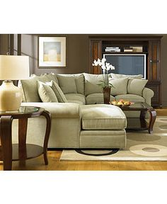 Most Comfortable Couch Ever   Doss Living Room Furniture Sets U0026 Pieces    Furniture   Macyu0027s, This Sectional Is Small Enough That It Could Work In A  LR, ...