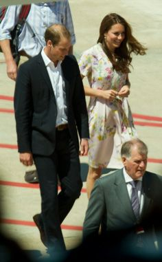 It will be Kate's first visit to both countries - although she and William created a stir when they flew to Brisbane airport to catch a flig...