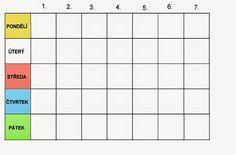 Pro Štípu: Komunikační obrázky Bar Chart, How To Plan, Autism, Bar Graphs