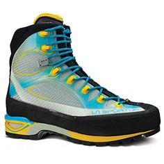 La Sportiva Trango Cube GTX Boot  Womens Malibu Blue  Yellow 40 ** For more information, visit image link.
