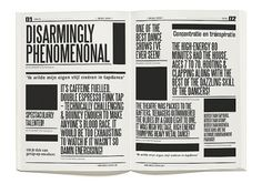 #typography #layout #publication #design