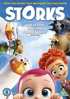 Storks [DVD] [2016] £10.00 to buy with free UK delivery.  Amazon Bestsellers Rank: 45 in DVD & Blu-ray (See Top 100 in DVD & Blu-ray)      #4 in DVD & Blu-ray > Animation     #13 in DVD & Blu-ray > Children & Family