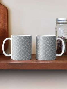 """Ultimate Gray #1"" Mug by Kettukas | Redbubble Bohemian Design, Bohemian Decor, Orange Mugs, Photo Pattern, Boho Theme, Vinyl Tumblers, Boho Room, Ornaments Design, Moroccan Style"