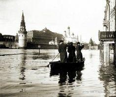 Наводнение в Москве, 1908 год