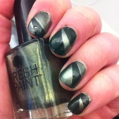 Five Below polish- went on in one coat and looks great!!