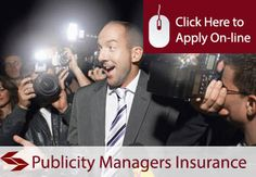 publicity managers professional indemnity insurance