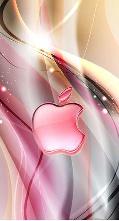 Phone Wallpapers Apple Logo Wallpaper Iphone, Iphone Logo, Cell… in 2019 Pink Wallpaper Light, Pink Glitter Wallpaper, Pink Wallpaper Backgrounds, Apple Logo Wallpaper Iphone, Iphone Homescreen Wallpaper, Flower Phone Wallpaper, Iphone Background Wallpaper, Cellphone Wallpaper, Colorful Wallpaper