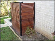 outdoor air conditioner screen enclosure - Google Search