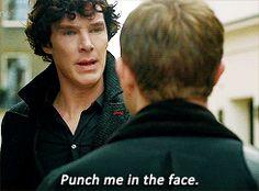 gifs mine sherlock TV martin freeman Benedict Cumberbatch john watson Season 2 a scandal in belgravia