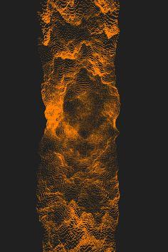 echophon: Orange Crevasse motion gif