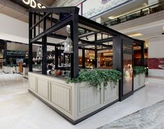 Bakerzin Café by Metaphor Interior at Kota Kasablanka, Jakarta – Indonesia Mall Design, Kiosk Design, Booth Design, Retail Design, Store Design, House Design, Best Interior Design Blogs, Restaurant Interior Design, Modern Interior Design