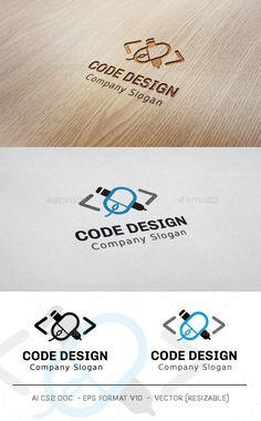 Code Design Logo  #coding #computer #computing #$31