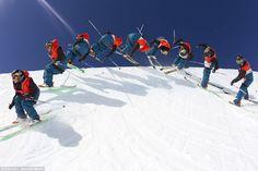 Composite Ski Pictures