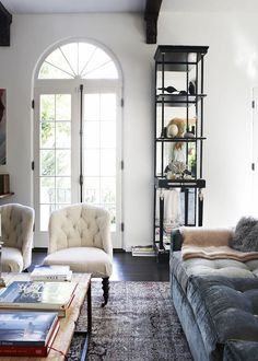 This+1920s+Spanish+Colonial+Home+Is+Vintage+Eclectic+Done+Right+via+@MyDomaine