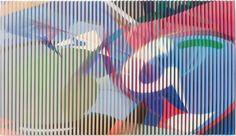 RAPHAEL BORER AND LUKAS OBERER - LENTICULAR - ARTSTÜBLI http://www.widewalls.ch/artwork/raphael-borer-and-lukas-oberer/lenticular/ #painting